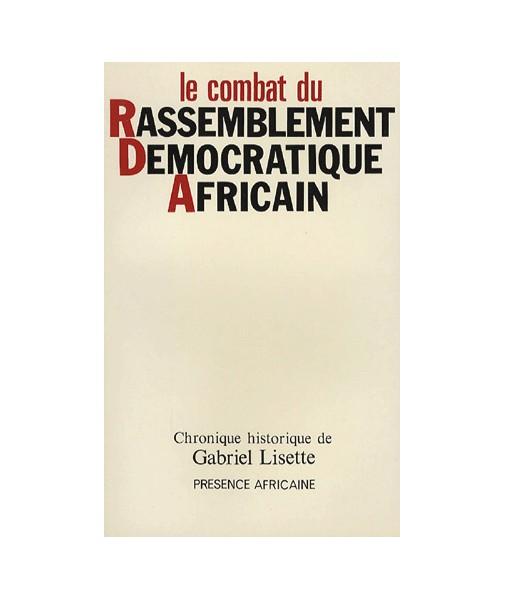 Le Combat du Rassemblement Démocratique Africain