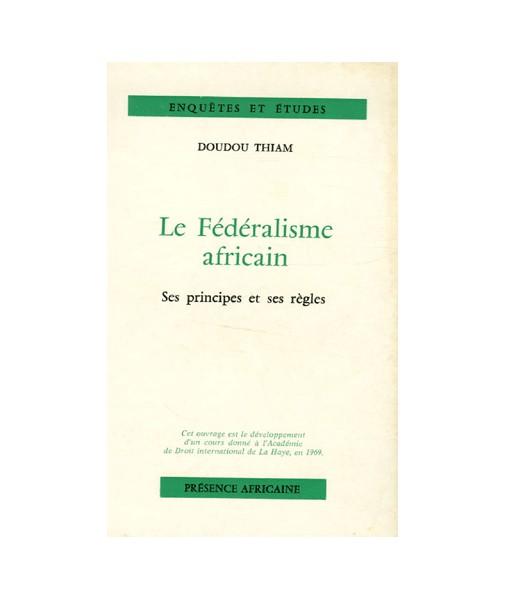 Le fédéralisme africain