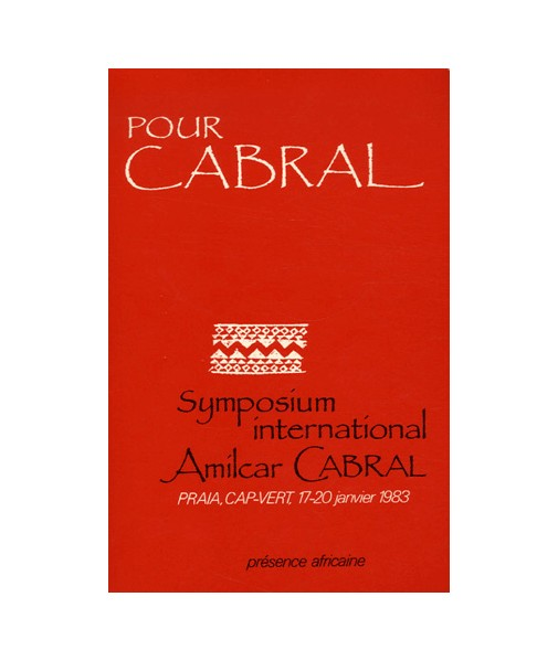 Symposium international Amilcar Cabral