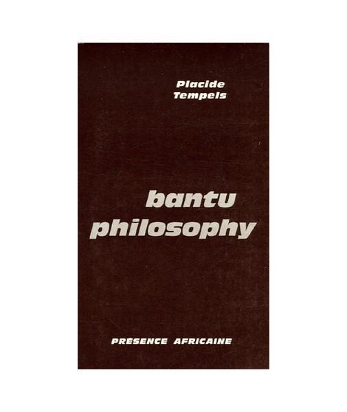 Bantu philosophy (édition anglaise)