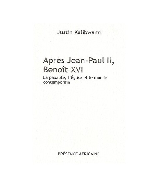 Après Jean-Paul II, Benoît XVI