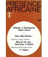 REVUE PRESENCE AFRICAINE N° 65