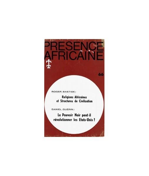 REVUE PRESENCE AFRICAINE N° 66