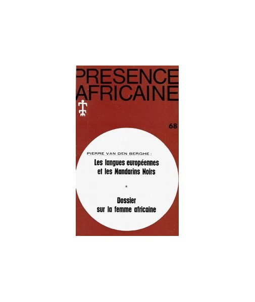 REVUE PRESENCE AFRICAINE N° 68