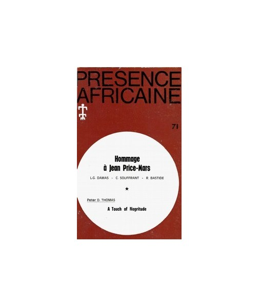 REVUE PRESENCE AFRICAINE N° 71
