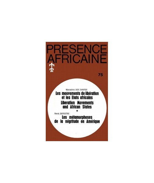 REVUE PRESENCE AFRICAINE N° 75