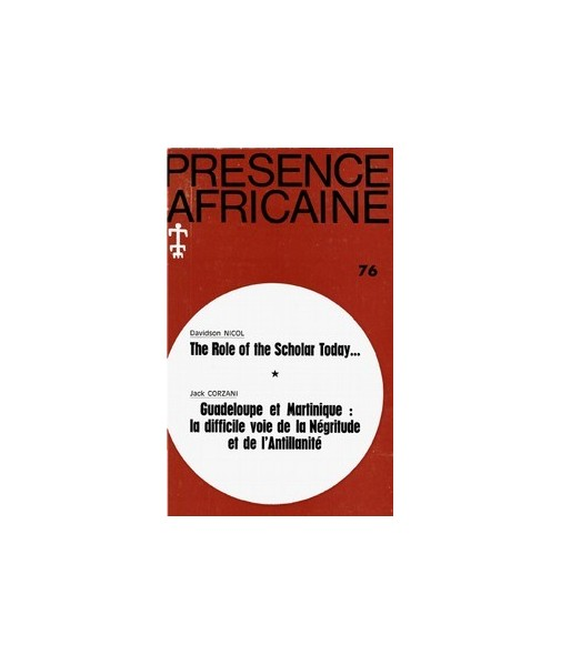 REVUE PRESENCE AFRICAINE N° 76