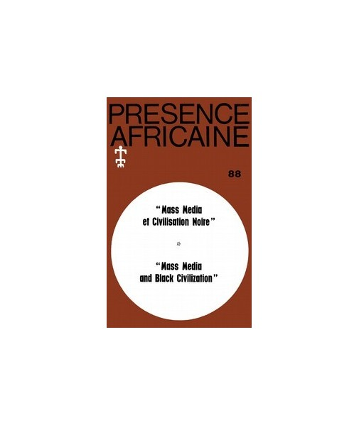REVUE PRESENCE AFRICAINE N° 88