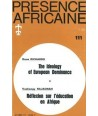 REVUE PRESENCE AFRICAINE N° 111