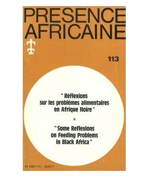 REVUE PRESENCE AFRICAINE N° 113