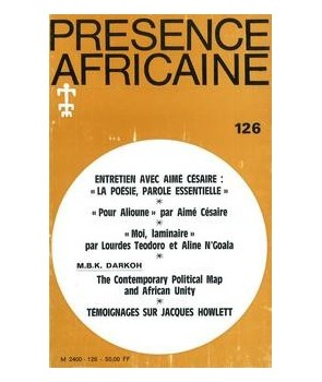 REVUE PRESENCE AFRICAINE N° 126