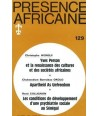 REVUE PRESENCE AFRICAINE N° 129