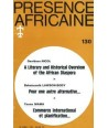REVUE PRESENCE AFRICAINE N° 130