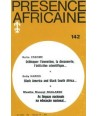REVUE PRESENCE AFRICAINE N° 142