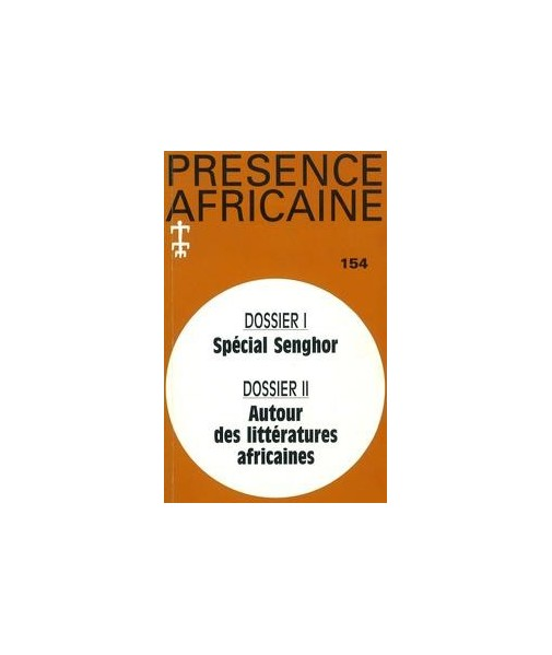 REVUE PRESENCE AFRICAINE N° 154