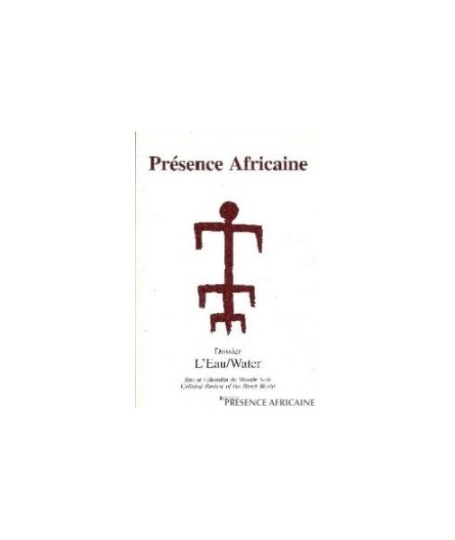 REVUE PRESENCE AFRICAINE N° 161