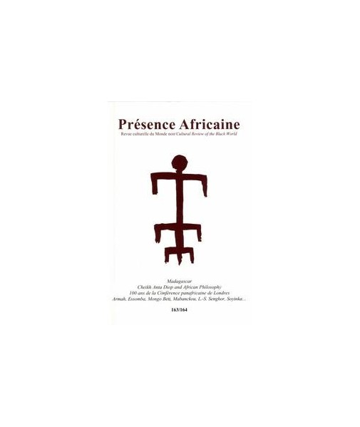 REVUE PRESENCE AFRICAINE N° 163