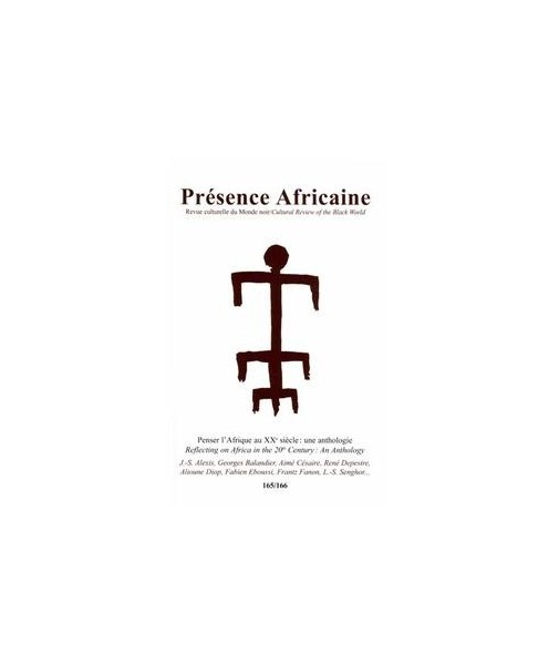 REVUE PRESENCE AFRICAINE N° 165