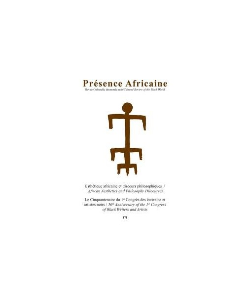 REVUE PRESENCE AFRICAINE N° 171