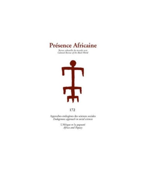 REVUE PRESENCE AFRICAINE N° 172