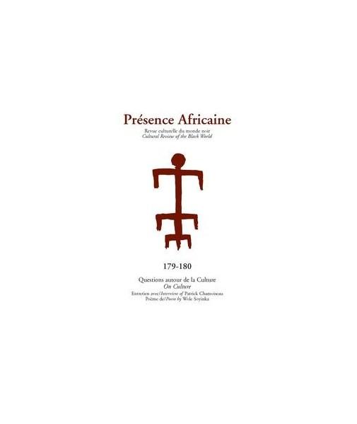 REVUE PRESENCE AFRICAINE N° 179 . 180