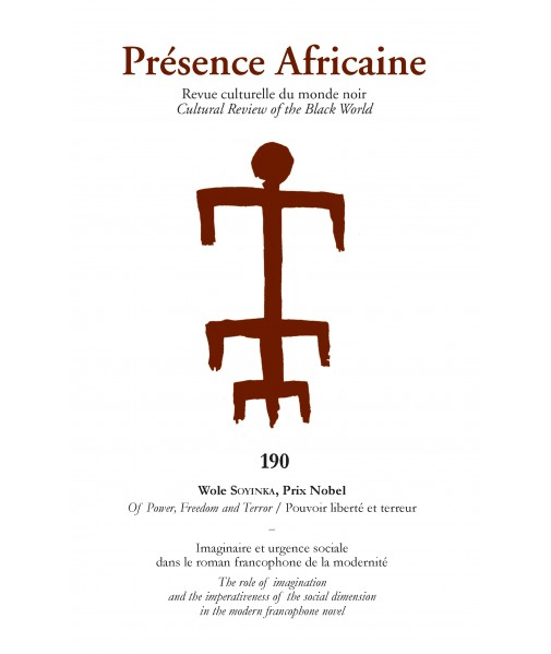 REVUE PRESENCE AFRICAINE N° 190