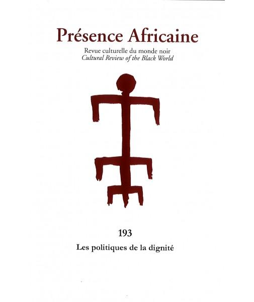 REVUE PRESENCE AFRICAINE N° 193