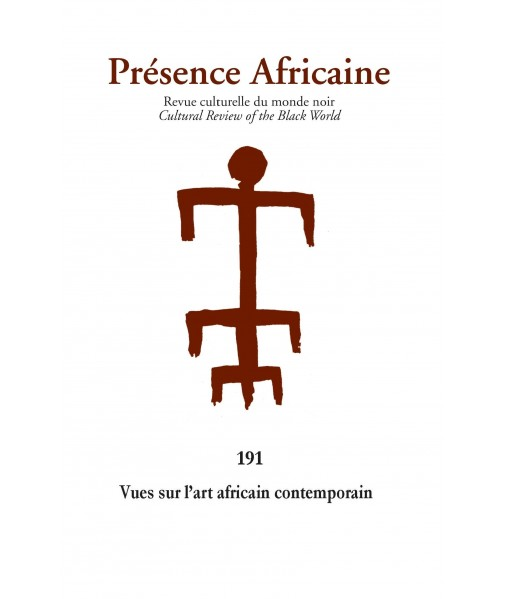 REVUE PRESENCE AFRICAINE N°191