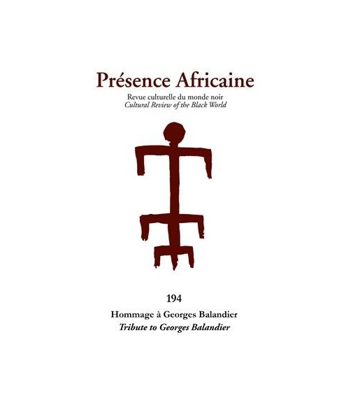 REVUE PRESENCE AFRICAINE N° 194