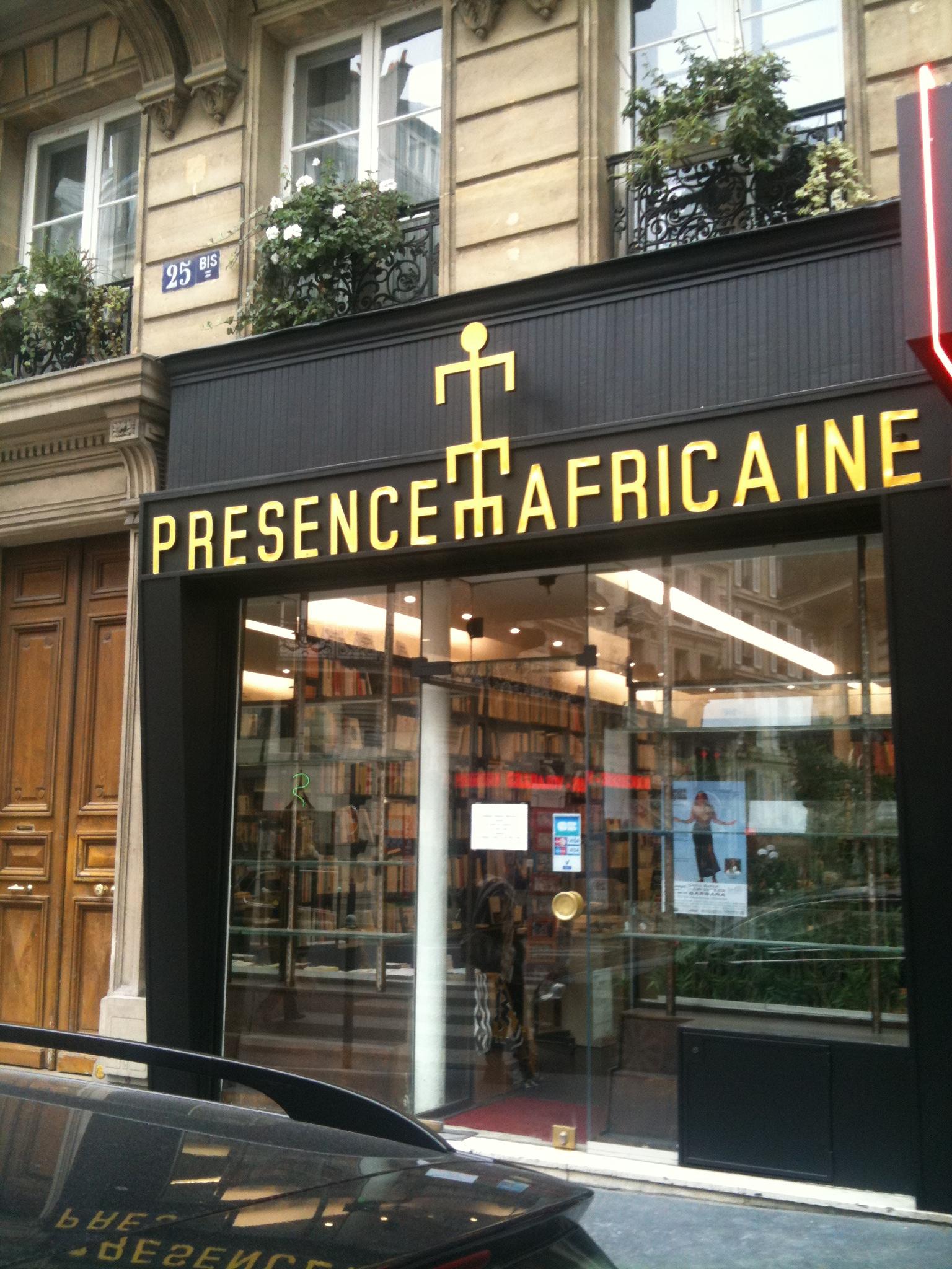 Librairie Présence Africaine