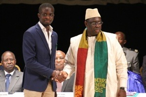 MOHAMED MBOUGAR SARR / DECORATION PAR MACKY SALL