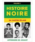 HISTOIRE NOIRE Vol1 - 54 cartes à jouer - apprendre en jouant