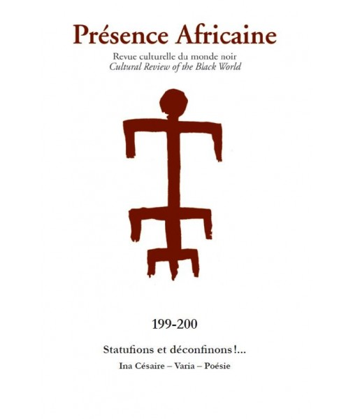 REVUE PRESENCE AFRICAINE N° 198