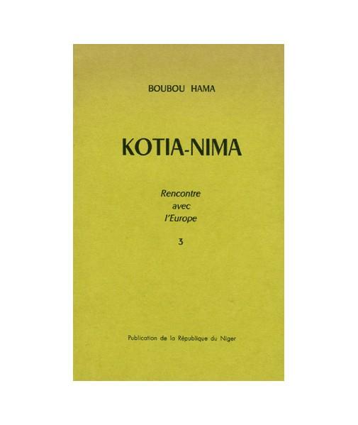 Kotia-Nima, tome III