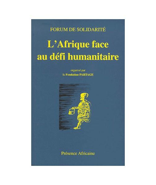 L'Afrique face au défi humanitaire - Colloque de Bamako 12/1998