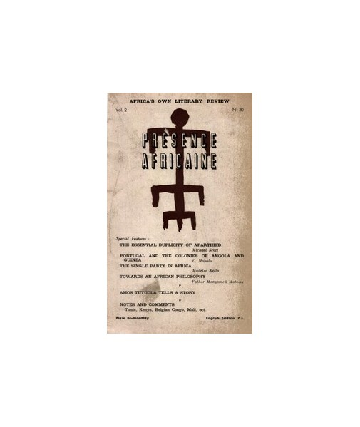 REVUE PRESENCE AFRICAINE N° 30