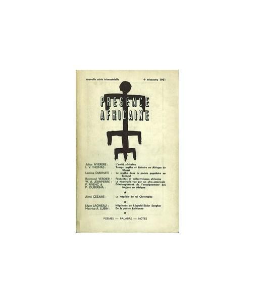 REVUE PRESENCE AFRICAINE N° 39