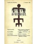REVUE PRESENCE AFRICAINE N° 51
