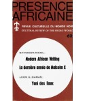 REVUE PRESENCE AFRICAINE N° 62