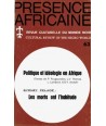 REVUE PRESENCE AFRICAINE N° 63