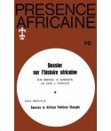 REVUE PRESENCE AFRICAINE N° 70