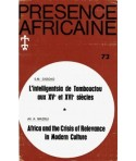 REVUE PRESENCE AFRICAINE N° 72
