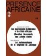 REVUE PRESENCE AFRICAINE N° 75