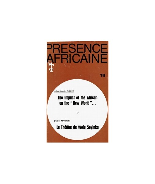 REVUE PRESENCE AFRICAINE N° 79