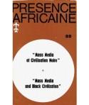 REVUE PRESENCE AFRICAINE N° 86