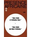 REVUE PRESENCE AFRICAINE N° 88