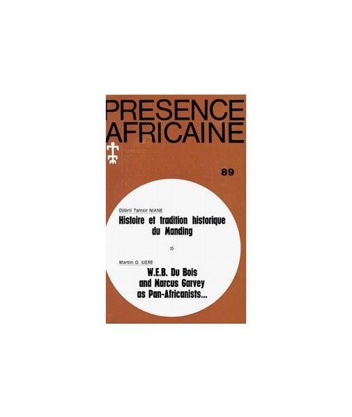 REVUE PRESENCE AFRICAINE N° 89