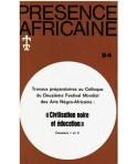 REVUE PRESENCE AFRICAINE N° 94