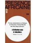 REVUE PRESENCE AFRICAINE N° 96