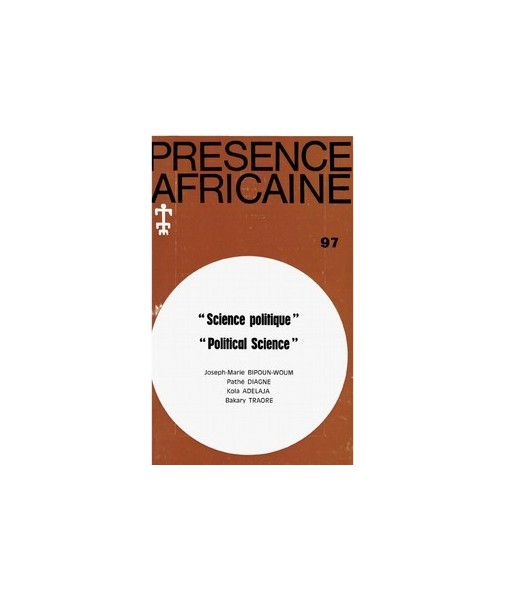 REVUE PRESENCE AFRICAINE N° 97